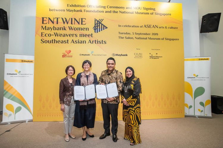 Maybank Celebrates The Ancient Art Of Textile Weaving In ASEAN