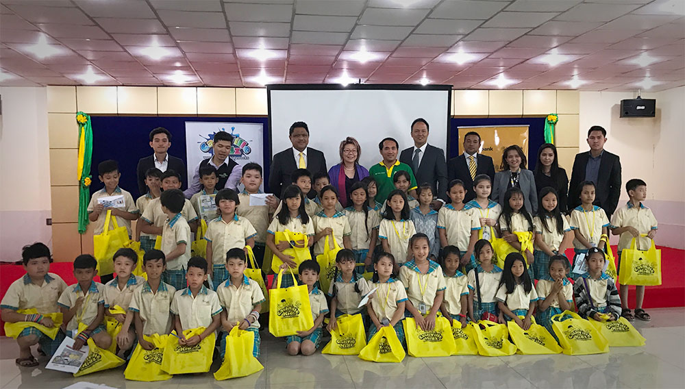 Maybank Cashville Kidz Financial Literacy Program Kicks off in Cambodia