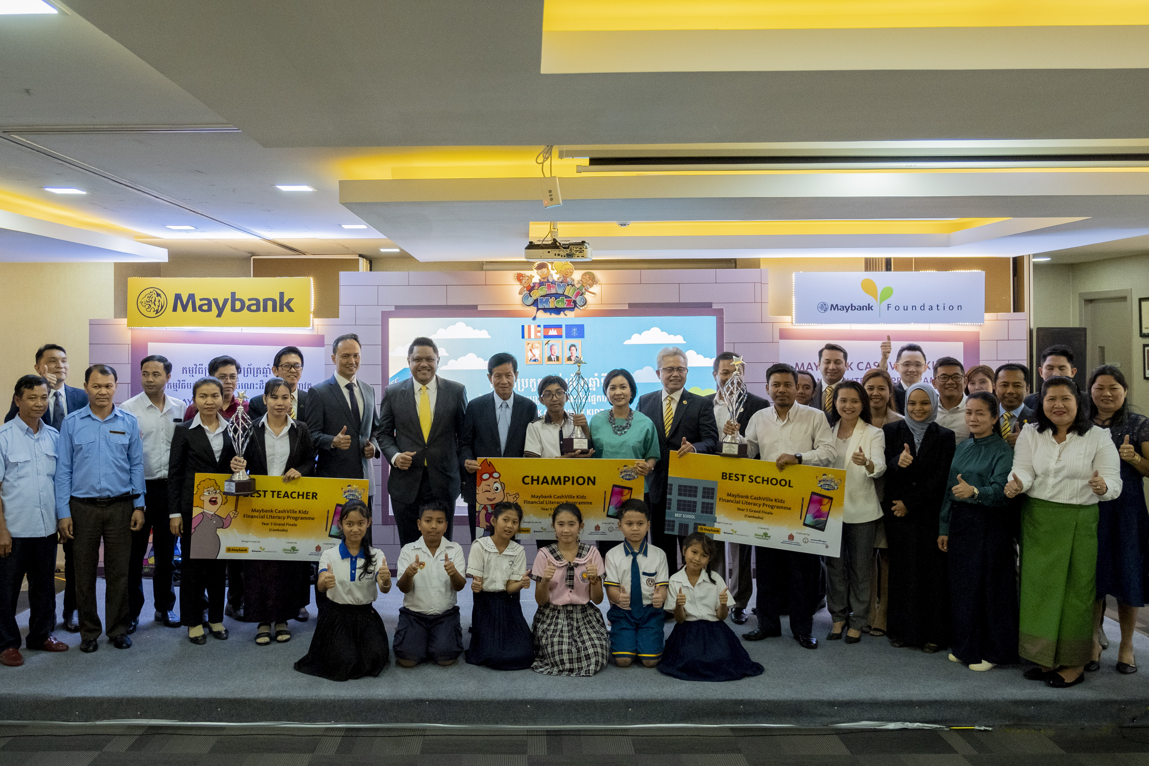 Maybank Honours Financial Literacy Champions at the Grand Finale of CashVille Kidz Programme